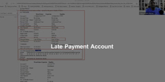 Late Payment Account